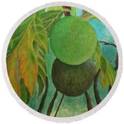 Panas Round Beach Towel