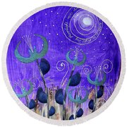 Papermoon Round Beach Towel