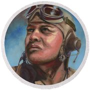 Pappy Boyington Round Beach Towel
