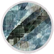 Paradise Beyond Round Beach Towel
