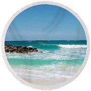 Paradise Island Round Beach Towel