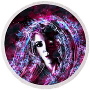 Round Beach Towel featuring the photograph Paradise Lost by Jason Hanson