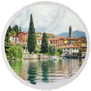 Paradise Reflections Round Beach Towel