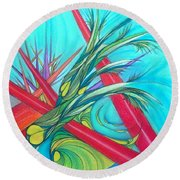Paralex8 Round Beach Towel