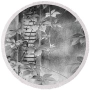 Parallel Botany #0810 Round Beach Towel