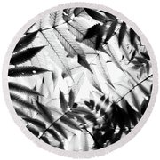 Parallel Botany #5229 Round Beach Towel