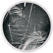 Parallel Botany #5266 Round Beach Towel