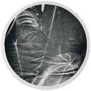 Parallel Botany #5266 Round Beach Towel
