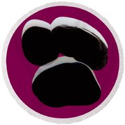 Paranormale Stones - Shadows Round Beach Towel