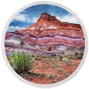 Paria Utah Round Beach Towel
