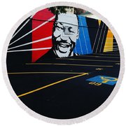 Park And Lead Or Leave And Follow Round Beach Towel