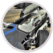 Parnelli Jones Watson Roadster 1963 Round Beach Towel