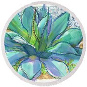 Parrys Agave Round Beach Towel