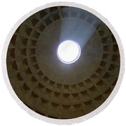 Pantheon Oculus Round Beach Towel
