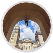 Passage Verite - Paris, France Round Beach Towel