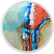 Passages Round Beach Towel