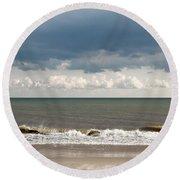 Pastel Palette -  Round Beach Towel