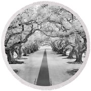 Path Of Dreams  Round Beach Towel