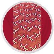 Pattern 1 Round Beach Towel