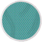 Pattern 1 Round Beach Towel