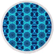 Pattern 62 Round Beach Towel