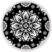 Pattern Art 01-1 Round Beach Towel