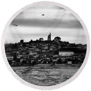 Patzcuaro Round Beach Towel by Ana Mireles