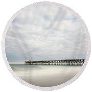 Pawleys Island Pier I Round Beach Towel