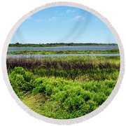 Pea Island National Wildlife Refuge - Outer Banks Round Beach Towel