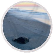 Peace - Beach Haven, Nj Round Beach Towel