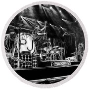 Pearl Jam Collection Round Beach Towel by Marvin Blaine
