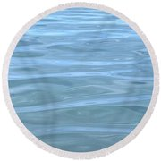 Pearlescent Tranquility Round Beach Towel