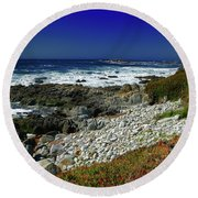 Pebble Beach Round Beach Towel
