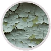 Round Beach Towel featuring the photograph Peeling 2 by Mike Eingle