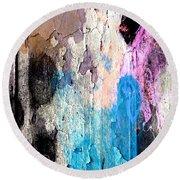 Peeling Paint Round Beach Towel by Jessica Wright