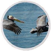 Pelican Duo Round Beach Towel
