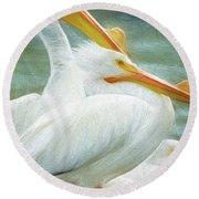 Pelican Three Round Beach Towel