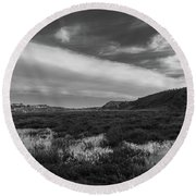 Penasquitos Creek Marsh Round Beach Towel