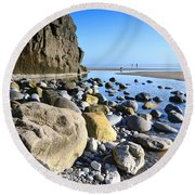 Pendine 1 Round Beach Towel