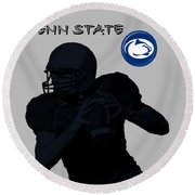 Penn State Football Round Beach Towel