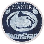 Penn State Personalized Round Beach Towel