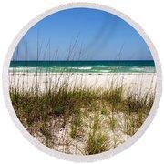 Pensacola Beach 1 - Pensacola Florida Round Beach Towel