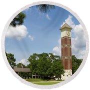 Pensacola State College Round Beach Towel