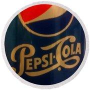 Pepsi Cola Round Beach Towel