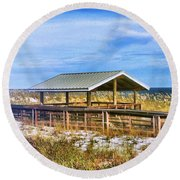 Perdido  Round Beach Towel