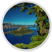 Perfect Picture Frame Round Beach Towel
