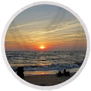 Perfection Round Beach Towel