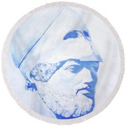 Pericles Round Beach Towel