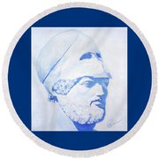 Pericles Round Beach Towel