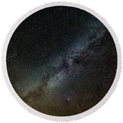 Perseid Meteor Round Beach Towel